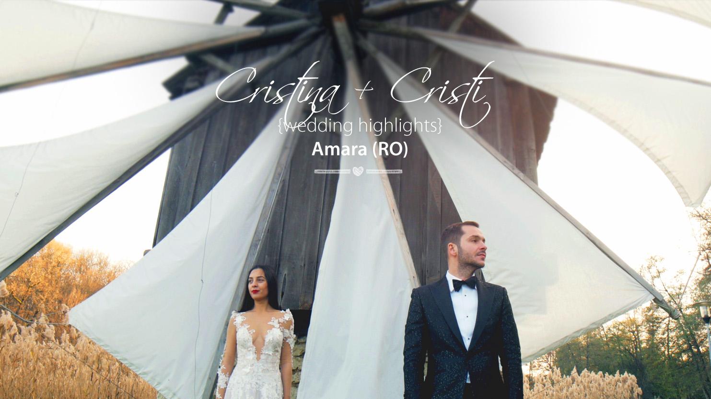 Cristina + Cristi | Clip Nuntă Slobozia | România