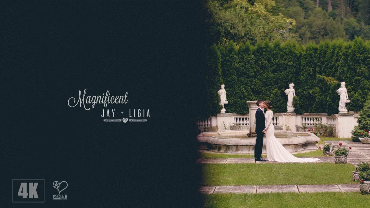 Ligia + Jay | Clip Nuntă Sinaia | România
